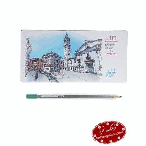 مداد رنگی 48 رنگ اسکای مدل Artist