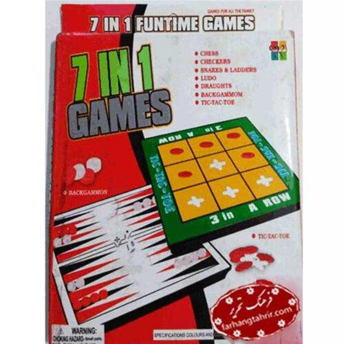 هفت بازی در یک جعبه GAMES 7 IN 1