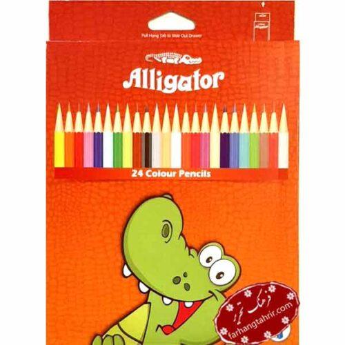 مداد رنگی 24 رنگ سوسمار Alligator