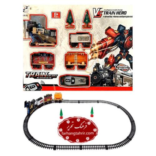 اسباب بازى قطار تبديل شونده به ربات مدل TRAIN HERO