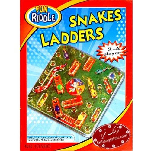 بازی جذاب سه بعدی مار و پله Snakes & Laders