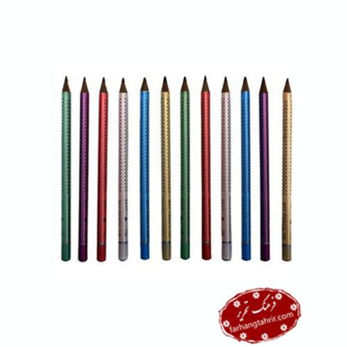 مداد مشکی اسکای HB S500 بسته 12 عددی