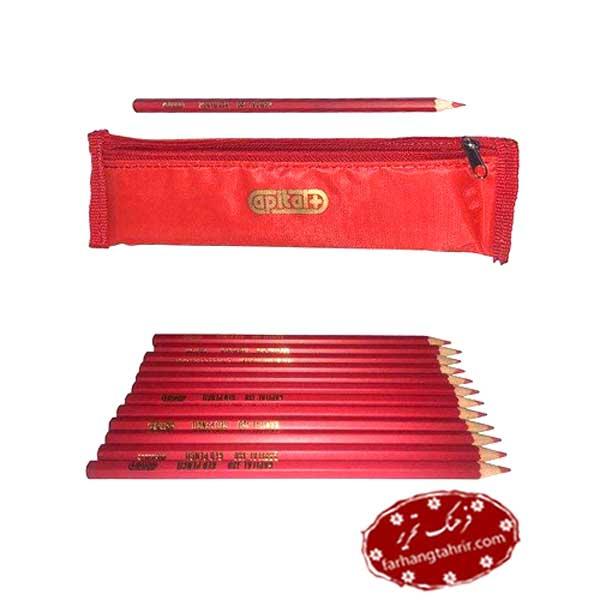مداد قرمز کپیتال کد CPL-130 بسته 12 عددی